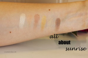 All about sunrise swatch